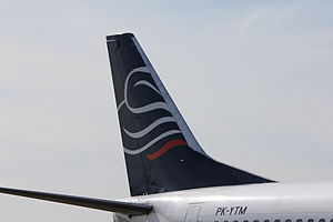 Batavia Air - Batavia Air Tail Fin