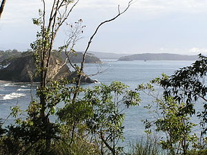 South Coast (New South Wales) - Looking into Batemans Bay from the south