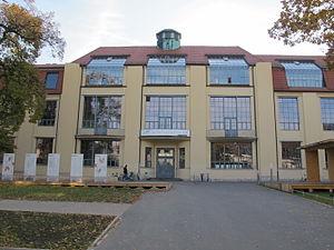 Bauhaus - Image: Bauhaus University Weimar 03