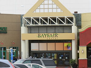 Bayfair Center - entrance to mall