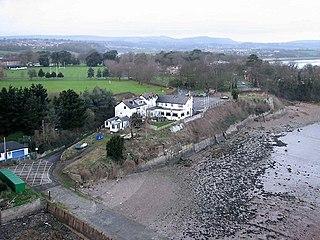 Beachley village in United Kingdom