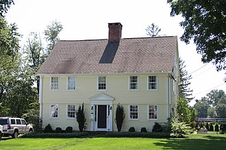 National Register of Historic Places listings in West Hartford, Connecticut - Image: Beardsley Mix House in West Hartford, August 22, 2008