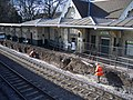 Beeston station - platform reconstruction 4.JPG