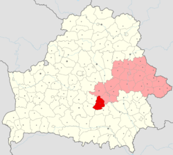 Location of Hlusk District