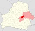 Belarus, Mahilioŭskaja voblasć, Kličaŭski rajon.png