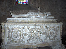 Tomb of Luís de Camões (in the Jerónimos Monastery in Belem)