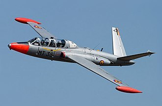 Fouga CM.170 Magister - A Magister of the Belgian Air Force