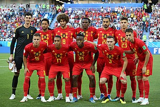 "Golden generation - Belgium's ""Golden Generation"" won the bronze medal at the 2018 FIFA World Cup; after beating England 1–0."