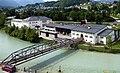 Berchtesgaden, Gleisbrücke beim Salzbergwerk, 2.jpeg