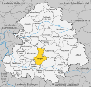 Berglen - Berglen in Rems-Murr-district