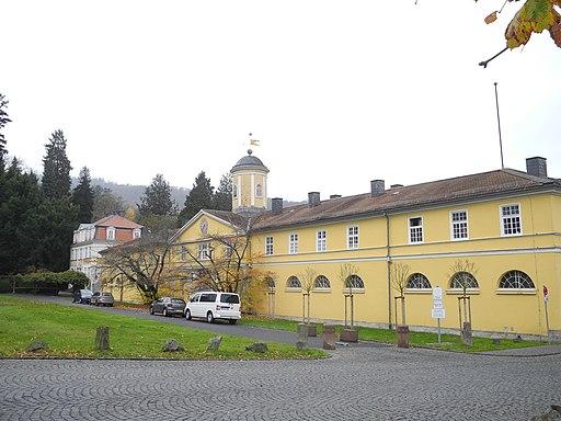 Bergpark Wilhelmshöhe - Marstall 2019-11-16 b