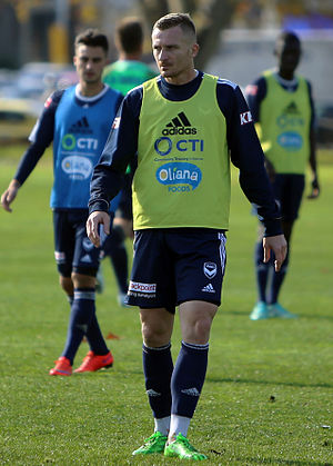 A-League - Besart Berisha is the leading A-League goalscorer, scoring his 100th A-League goal in April 2017.