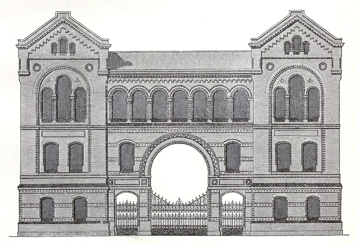 Synagoge lindenstra e wikipedia - Architekturburos in berlin ...