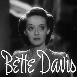 Cropped screenshot of Bette Davis from the tra...