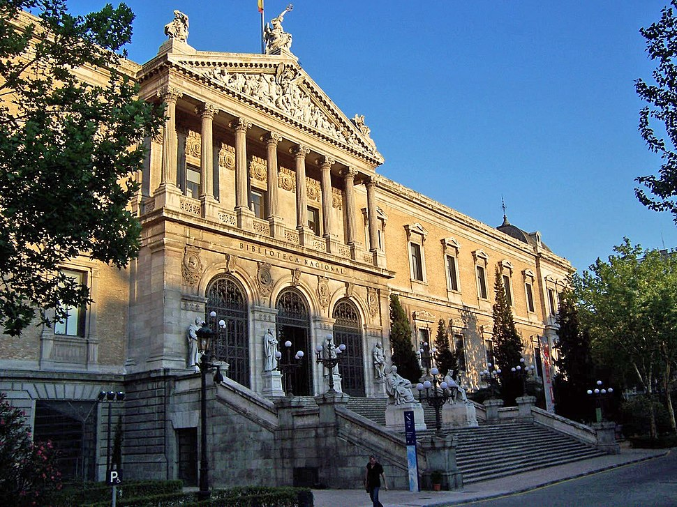 Biblioteca Nacional de Espa%C3%B1a (Madrid) 2005 July