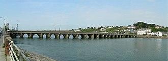 Grade I listed buildings in Torridge - Image: Bideford long bridge pan 1200