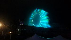 Yeosu - Colorful Big-O show