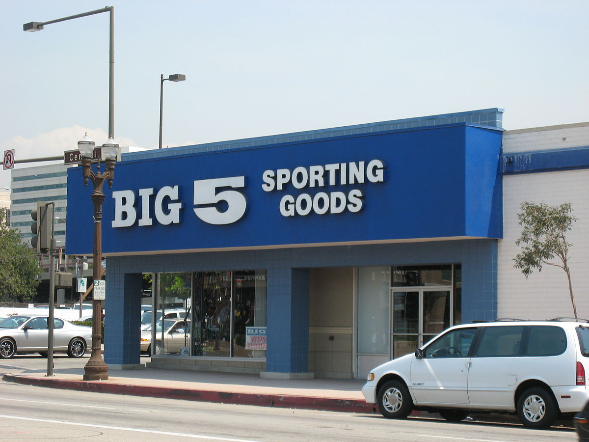 Colorado Corporation Search >> Big 5 Sporting Goods - Wikipedia