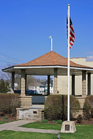 Big Rock, Illinois - Gazebo in downtown Big Rock