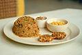 Bihari Style Pudina Chicken Pulao with Raita and Sabudana Cutlet.jpg