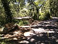 Bike trail and benches near abandoned railroad - panoramio.jpg