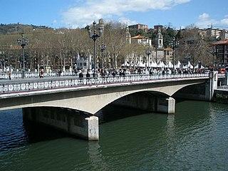 Arenal Bridge bridge in Spain