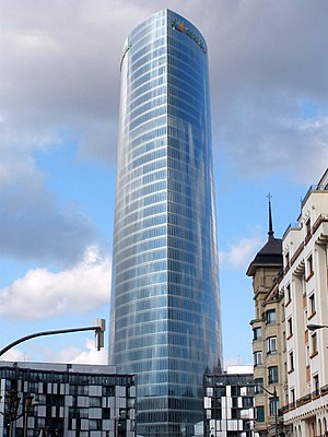 Iberdrola Tower - Tower on February 2012
