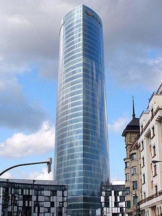 Iberdrola Tower - Tower on February 2012
