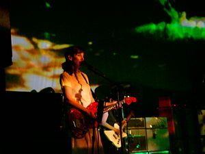 My Bloody Valentine (band) - Bilinda Butcher and Debbie Googe performing in 2008