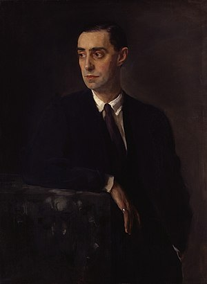 Oswald Birley - Portrait of Birley by Glyn Philpot, 1920