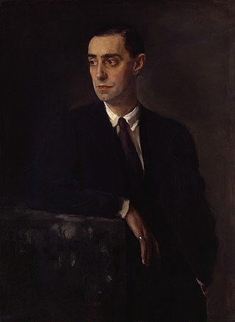 Oswald Birley - Portrait of Birley by Glyn Philpot, 1920