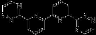 BTBP - Core chemical structure of a bis-triazinyl bipyridine