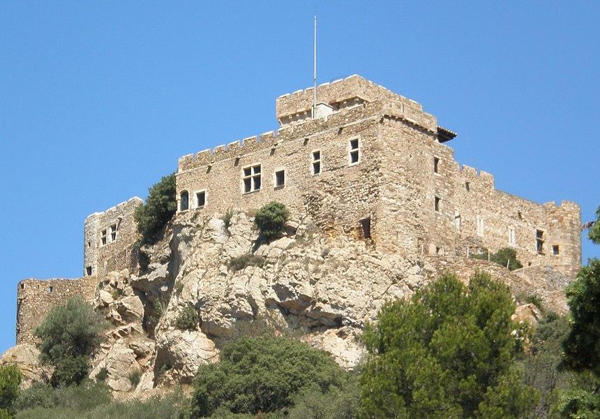 Château de Saint-Martin de Toques à Bizanet