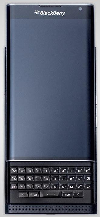 BlackBerry Priv - Image: Black Berry Priv