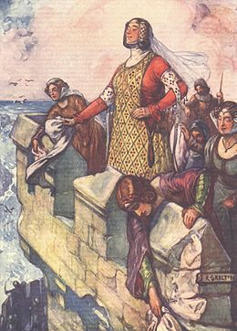 Black Agnes, from a children's history book.jpg
