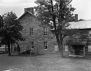 National Register of Historic Places listings in Adams County, Pennsylvania - Image: Black Horse Tavern near Gettysburg