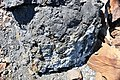 Black smoker rocks (sulfidic wad) (Helen Iron-Formation, Neoarchean, 2696-2749 Ma; Sir James Pit, Eleanor Iron Range, Ontario, Canada) 8 (48069972947).jpg