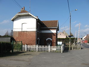 Quiévrechain - Former train station and border crossing