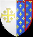 Blason duche fr Anjou (moderne).png