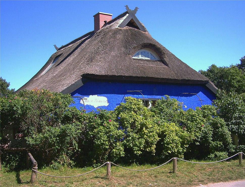 Blaue Scheune Hiddensee 2006
