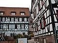 Blick durch die Häuser auf die evangelische Stadtkirche Peter und Paul - panoramio.jpg