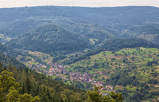 Hohloh mountain in the Black Forest, Germany