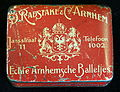 Blikje Echte Arnhemsche Balletjes, D Radstake & Co.JPG