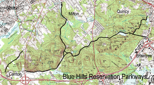 Blue Hills Reservation Parkways - Image: Blue Hills Reservation Parkways