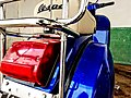 Blue Piaggo Vespa model 1960.jpg