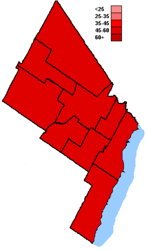 Canadian federal election results in Brampton, Mississauga and Oakville - Liberal Party of Canada
