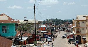 Bo, Sierra Leone - Image: Bo City Sierra Leone