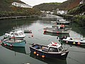 Boats moored in Boscastle Harbour - geograph.org.uk - 1566745.jpg