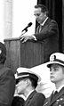 Bob Dole speaks at the opening of the Women in Military Service for America.jpg