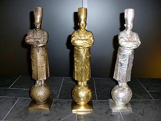 Bocuse d'Or - The Bocuse d'Or trophies